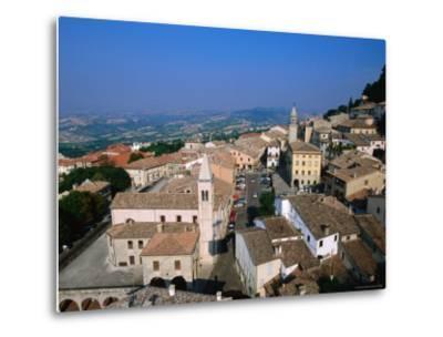 Buildings of Lower Town, San Marino, San Marino-John Elk III-Metal Print