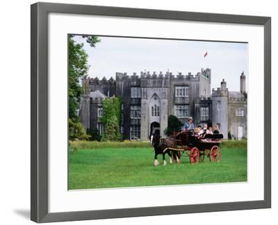 Horse Carriage with Birr Castle Demesne, Ireland-Holger Leue-Framed Photographic Print