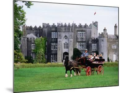 Horse Carriage with Birr Castle Demesne, Ireland-Holger Leue-Mounted Photographic Print