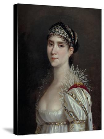 Empress Josephine, c.1805-Robert Lefevre-Stretched Canvas Print