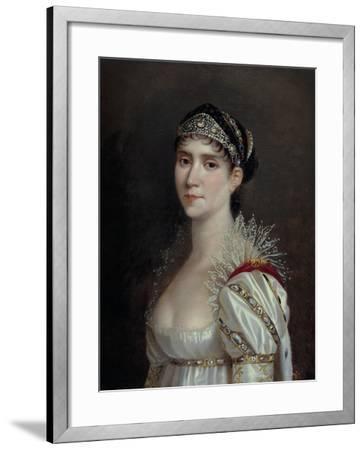 Empress Josephine, c.1805-Robert Lefevre-Framed Giclee Print