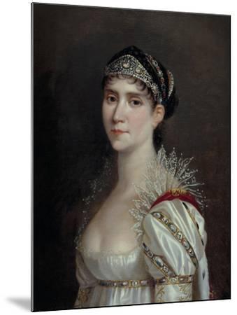Empress Josephine, c.1805-Robert Lefevre-Mounted Giclee Print