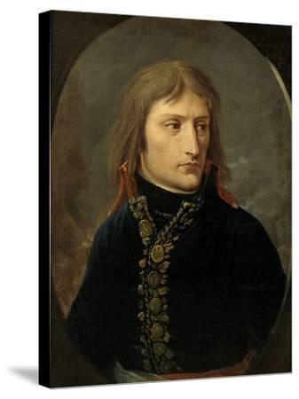 Napoleon Bonaparte as General, c.1796-Baron Louis Albert Bacler D'albe-Stretched Canvas Print