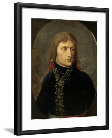 Napoleon Bonaparte as General, c.1796-Baron Louis Albert Bacler D'albe-Framed Giclee Print