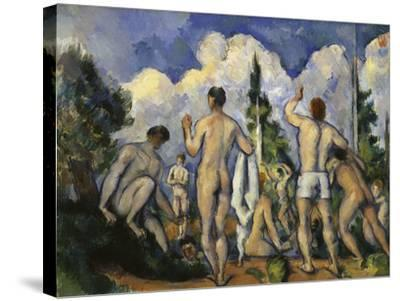 The Bathers, c.1890-Paul C?zanne-Stretched Canvas Print