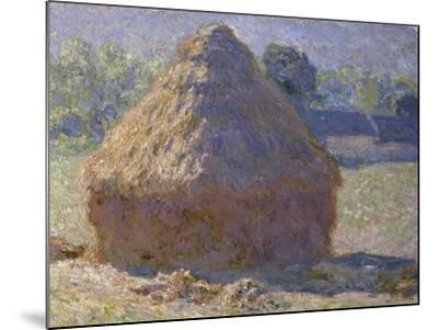 Haystack, Late Summer, c.1891-Claude Monet-Mounted Giclee Print