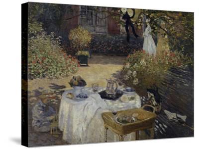 Le Dejeuner, c.1873-Claude Monet-Stretched Canvas Print