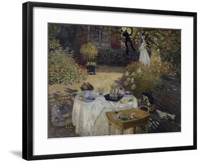 Le Dejeuner, c.1873-Claude Monet-Framed Giclee Print