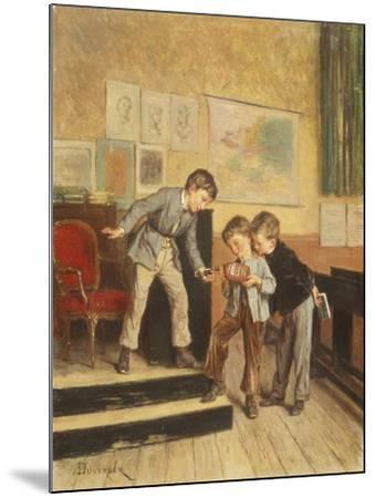 Filling the Inkwells-Theophile E. Duverger-Mounted Giclee Print