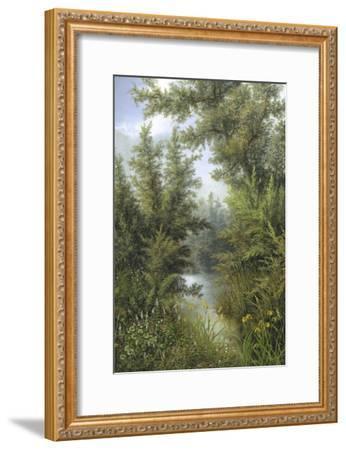 Secret Pool-Albert Lucas-Framed Giclee Print