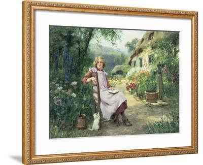 In the Garden-Henry John Yeend King-Framed Giclee Print