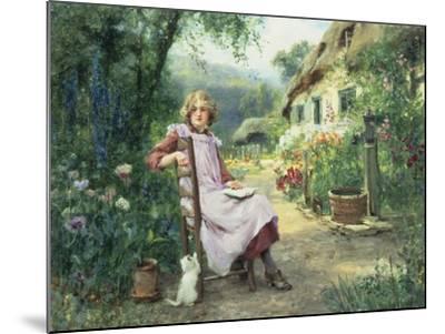 In the Garden-Henry John Yeend King-Mounted Giclee Print