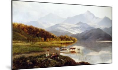 Lakeside Gathering-Henry John Boddington-Mounted Giclee Print
