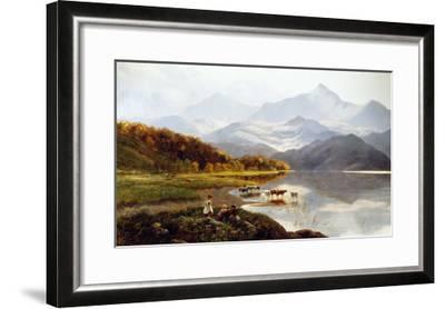 Lakeside Gathering-Henry John Boddington-Framed Giclee Print