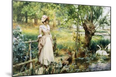 Reverie by the River-Alfred Augustus Glendenning-Mounted Giclee Print