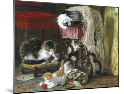 Mischief Makers-Henriette Ronner Knip-Mounted Giclee Print