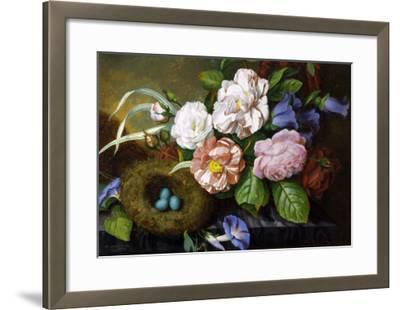 Still Life of Camelias-Woodleigh Marx Hubbard-Framed Giclee Print