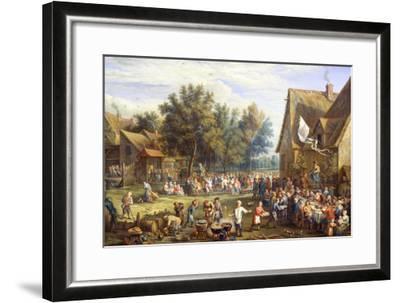 Village Feast-Constantin Coene-Framed Giclee Print
