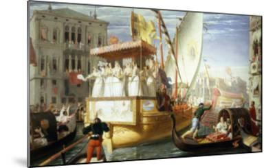 The Brides of Venice Being Taken to the Wedding, c.1528-John Rogers Herbert-Mounted Giclee Print