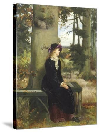 The Tryst-William Holyoake-Stretched Canvas Print