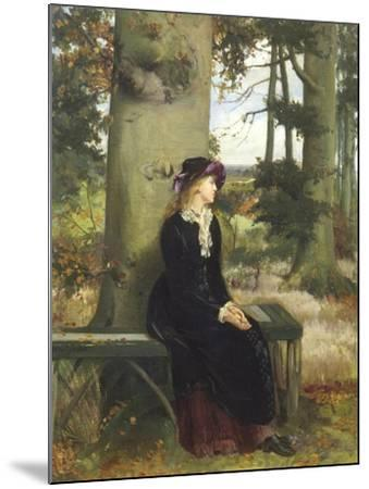 The Tryst-William Holyoake-Mounted Giclee Print