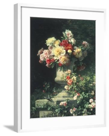 Peonies and Roses-Madeleine Lemaire-Framed Giclee Print