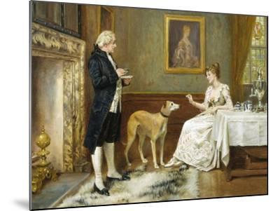 The Favourite-George Goodwin Kilburne-Mounted Giclee Print