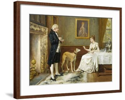 The Favourite-George Goodwin Kilburne-Framed Giclee Print