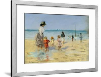 Going for a Paddle-Emile Cagniart-Framed Giclee Print