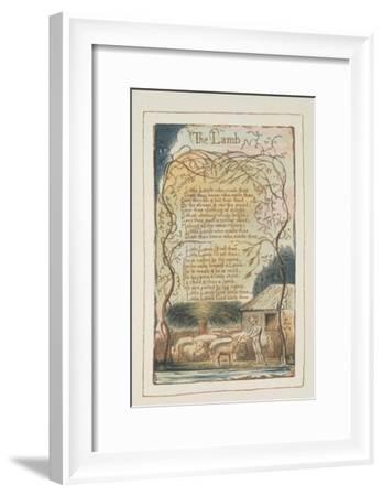 Songs of Innocence-William Blake-Framed Giclee Print