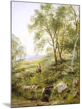 Springtime in Wales-Benjamin Williams Leader-Mounted Giclee Print