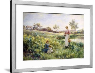 Golden Hours-Alfred Augustus Glendenning-Framed Giclee Print