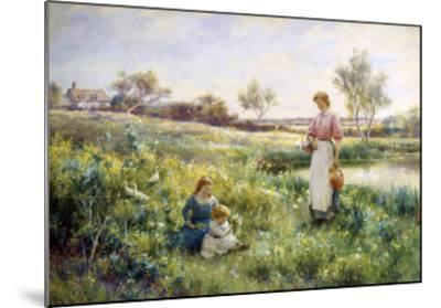 Golden Hours-Alfred Augustus Glendenning-Mounted Giclee Print