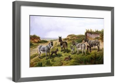 Family Friends-Charles Jones-Framed Giclee Print