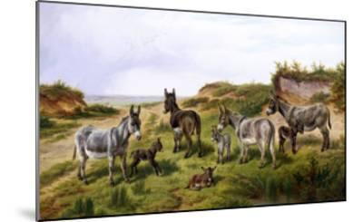 Family Friends-Charles Jones-Mounted Giclee Print