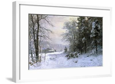 Late Lies the Winter Sun-Anders Andersen-Lundby-Framed Giclee Print