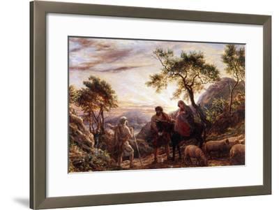 Flight Into Egypt-James Thomas Linnell-Framed Giclee Print