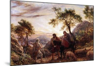 Flight Into Egypt-James Thomas Linnell-Mounted Giclee Print