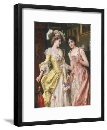 Interesting Letter-Federigo Andreotti-Framed Giclee Print