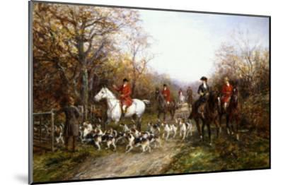 Going Through the Copse-Heywood Hardy-Mounted Premium Giclee Print