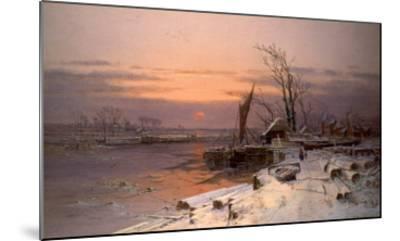 On the Estuary-Charles Brooke Branwhite-Mounted Giclee Print