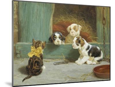 Just Good Friends-John Dollman-Mounted Giclee Print