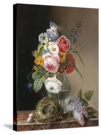 Les Jolies Fleurs-Augustine Vervloet-Stretched Canvas Print