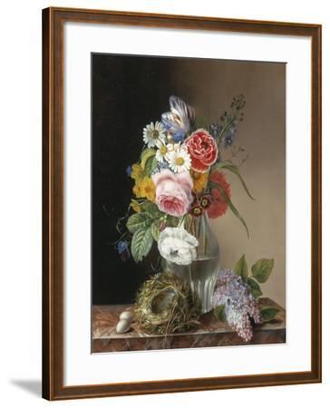 Les Jolies Fleurs-Augustine Vervloet-Framed Giclee Print