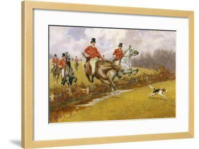 Over the Fence-Warren Williams-Framed Giclee Print