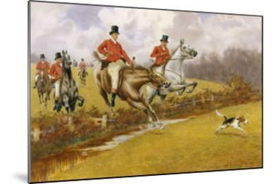 Over the Fence-Warren Williams-Mounted Giclee Print
