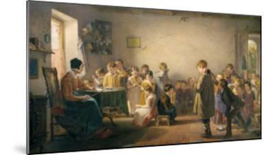 Classroom Recital-Thomas Webster-Mounted Giclee Print