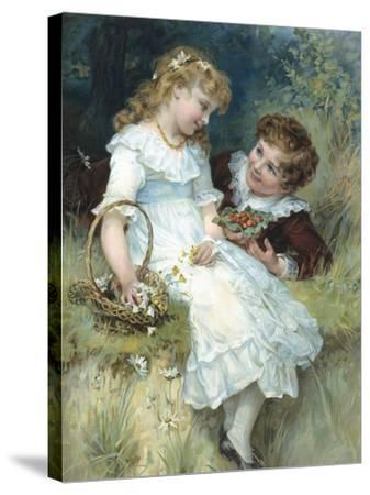 Sweethearts-Frederick Morgan-Stretched Canvas Print