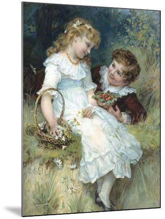 Sweethearts-Frederick Morgan-Mounted Giclee Print