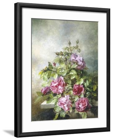 Romantic Roses-Claude Massman-Framed Giclee Print